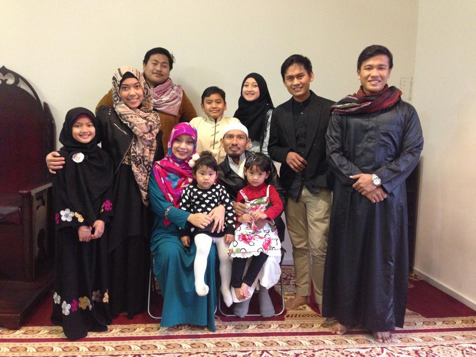 Warga LDII di Australia di Masjid Chambers