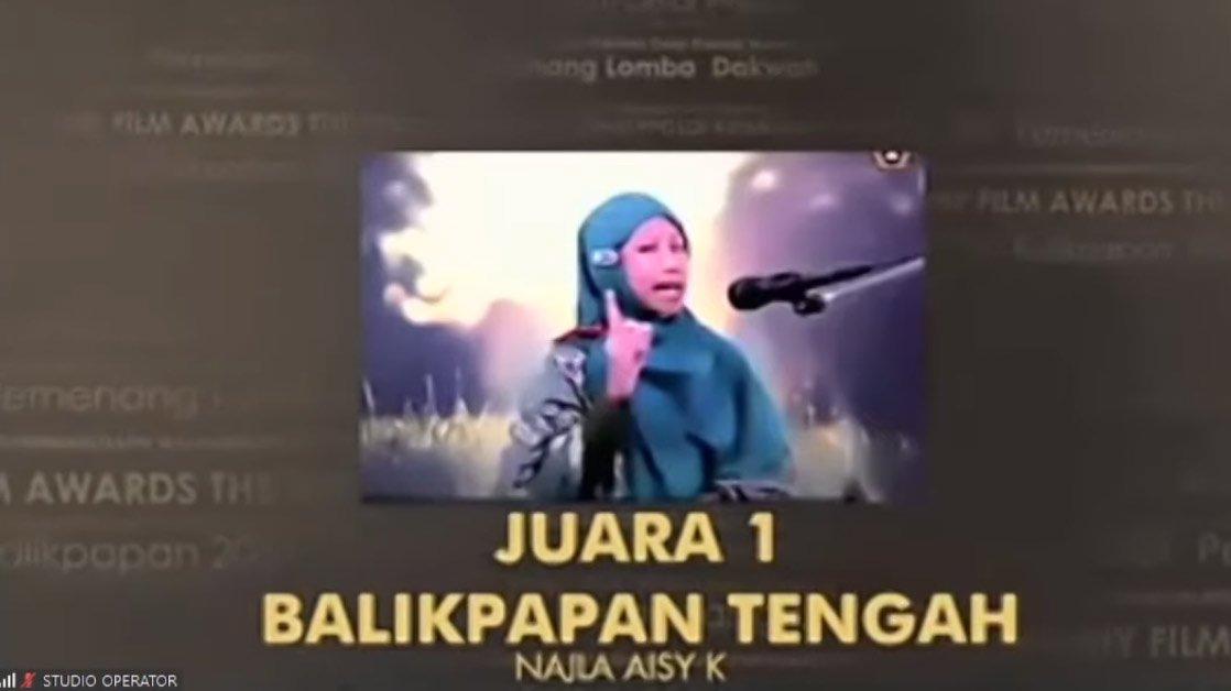 Juara I Dakwah Bahasa Indonesia diperoleh peserta dari PC LDII Balikpapan Tengah.